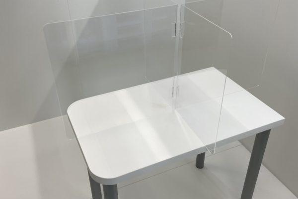 飛沫防止パーテーション(折り畳み式)